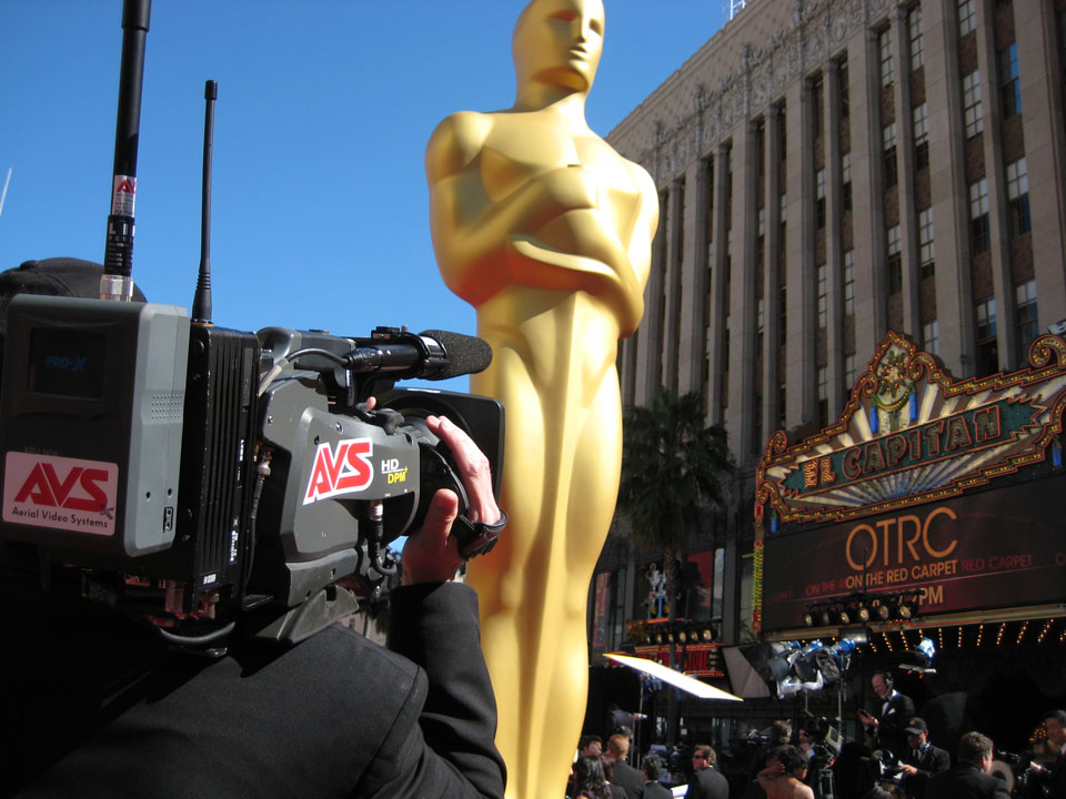 Academy Awards 2011 Red Carpet | AVS Aerial Video Systems