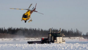 Ice Road Truckers Heli Carrier | AVS Aerial Video Systems