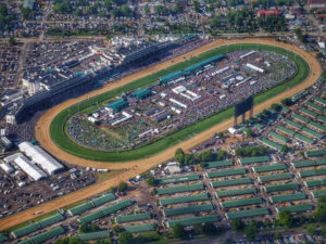 Kentucky Derby - Churchill Downs 2017 | AVS Aerial Video Systems