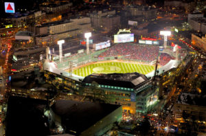 MLB WS Game 1 in Boston 2013 | AVS Aerial Video Systems